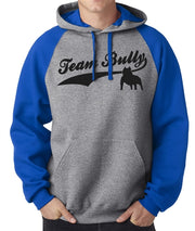 Team Bully Men's Raglan Sleeve Pullover with Hood