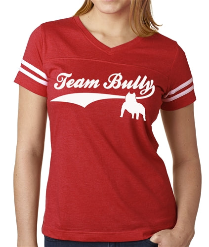 Team Bully Women's Football Jersey Bully Shirt