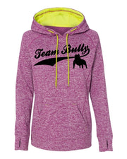 Team Bully Women's Contrast Pullover with Hood