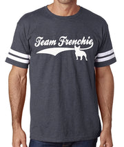 Team Frenchie Men's Football Jersey Shirt French Bulldog Shirt