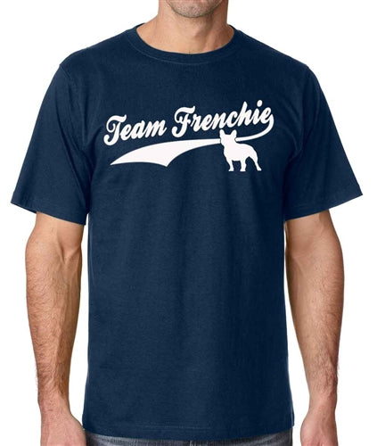Team Frenchie Men's French Bulldog Crew Neck Shirt