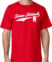 Team PitBull Men's Bully Crew Neck PitBull Shirt