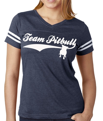 Team Pitbull Women's Football Jersey Pitbull Shirt