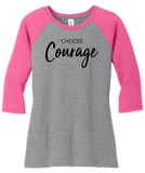 Choose Courage Baseball T