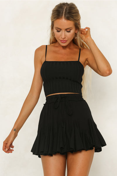 Carefree Skirt / Black