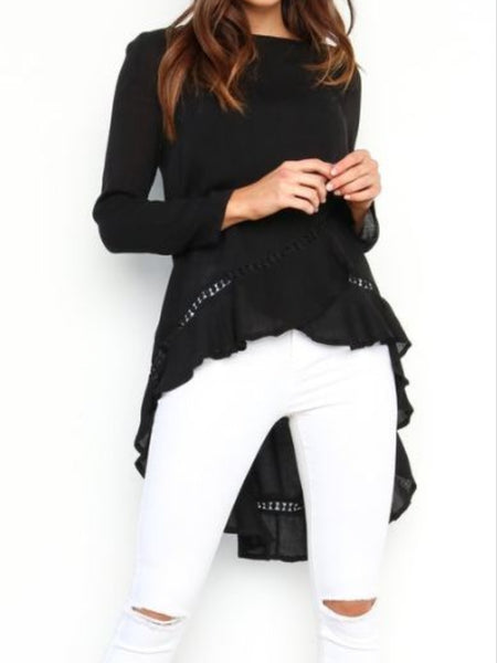 Hi-lo Top / Black