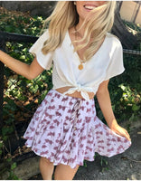 Carefree Skirt / Floral