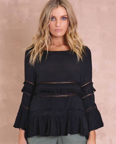 Chantelle Top / Black