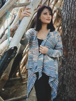Waterfall Cardi / Grey