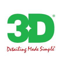 3D detailing products Canada logo