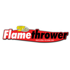 buff brite flame thrower LED detailing light canada logo
