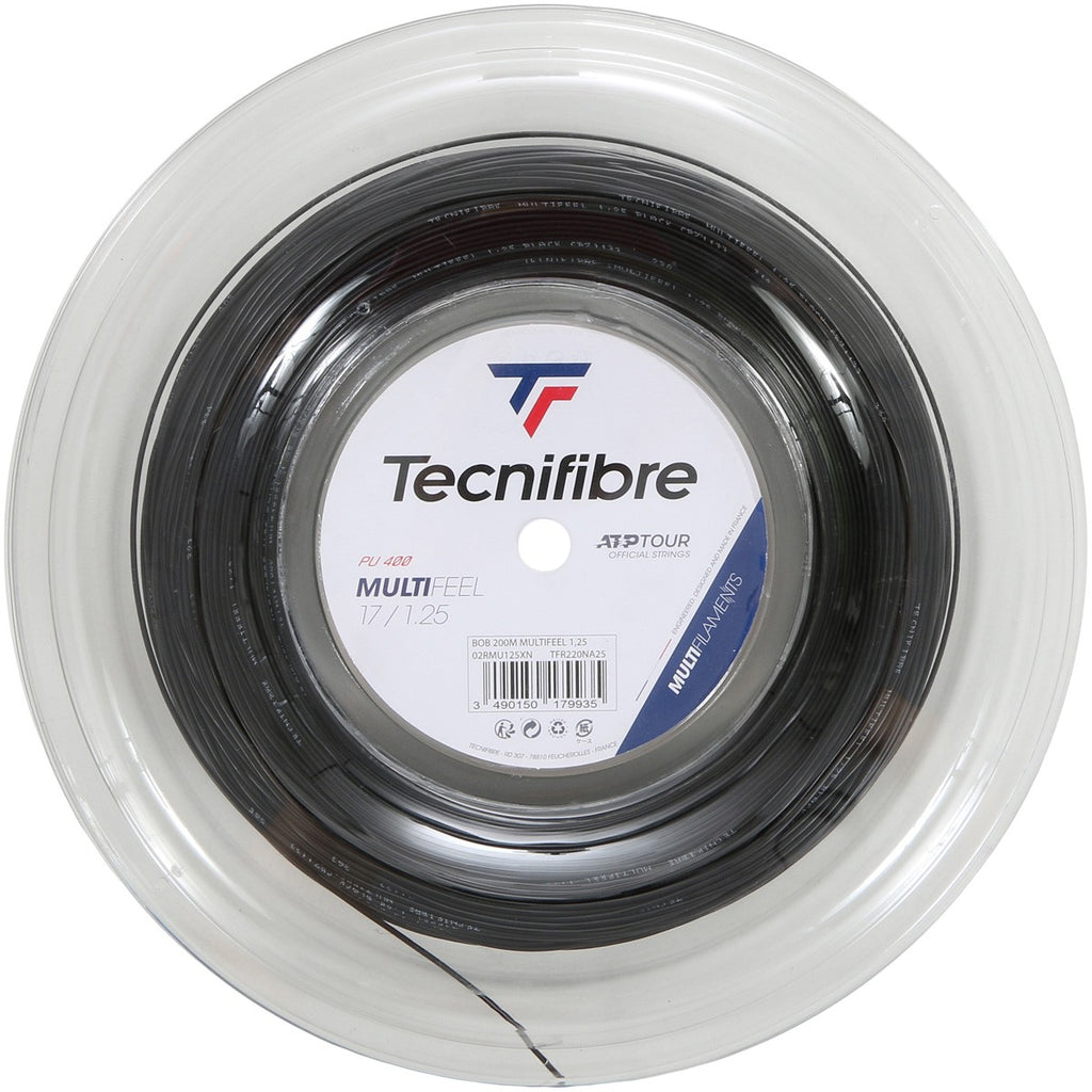 TECNIFIBRE MULTIFEEL (200 METRES) STRING REEL-All Things Tennis-UK tennis shop