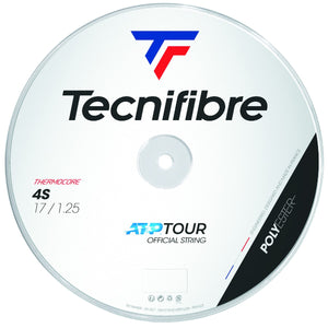 Tecnifibre Black Code 4S 200m Tennis String Reel - Black - All Things Tennis