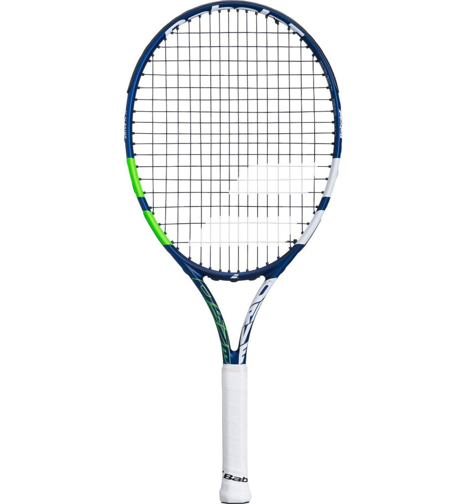 Babolat Drive 24 Inch Junior Tennis Racket - Blue/Green (2021)-All Things Tennis-UK tennis shop