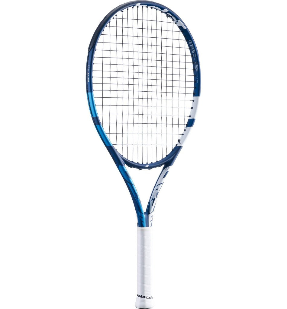 Babolat Drive 25 Inch Junior Tennis Racket - Blue (2021)-All Things Tennis-UK tennis shop
