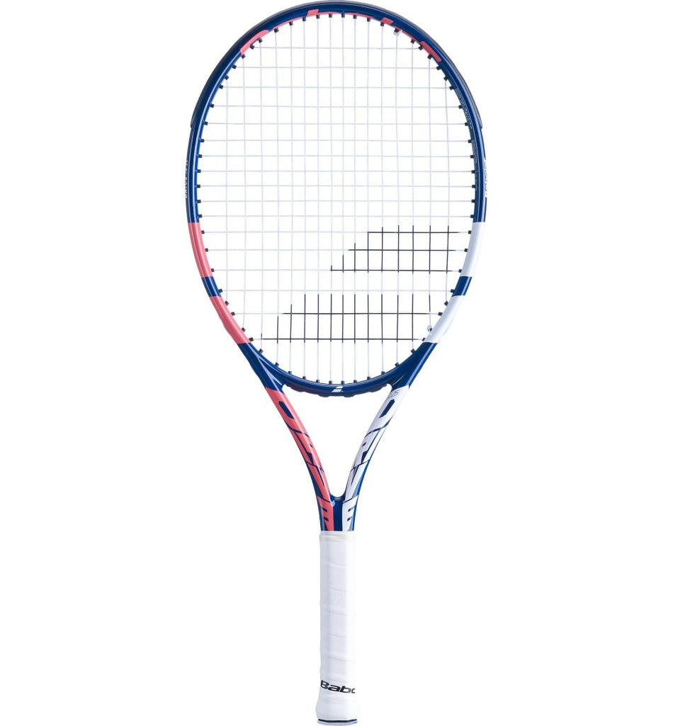 Babolat Drive 25 Inch Junior Tennis Racket - Coral/Blue (2021)-All Things Tennis-UK tennis shop