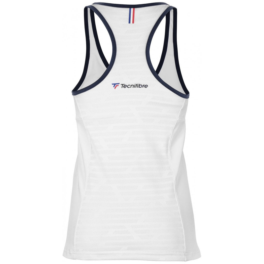 Tecnifibre Women's F3 tank Top - White - All Things Tennis