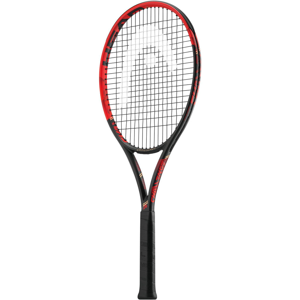 Head Challenge Pro Tennis Racket - Black/Red - All Things Tennis