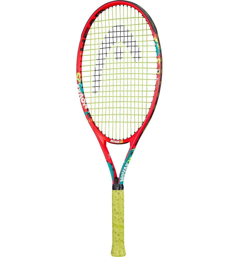 Head Novak 25 Inch Junior Aluminium Tennis Racket - All Things Tennis
