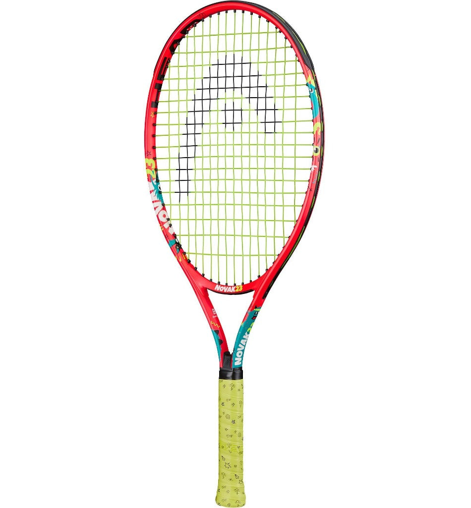 Head Novak 23 Inch Junior Aluminium Tennis Racket-All Things Tennis-UK tennis shop