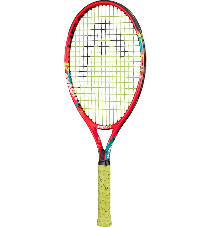 Head Novak 21 Inch Junior Aluminium Tennis Racket-All Things Tennis-UK tennis shop