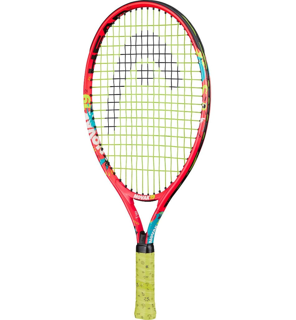 Head Novak 19 Inch Junior Aluminium Tennis Racket-All Things Tennis-UK tennis shop