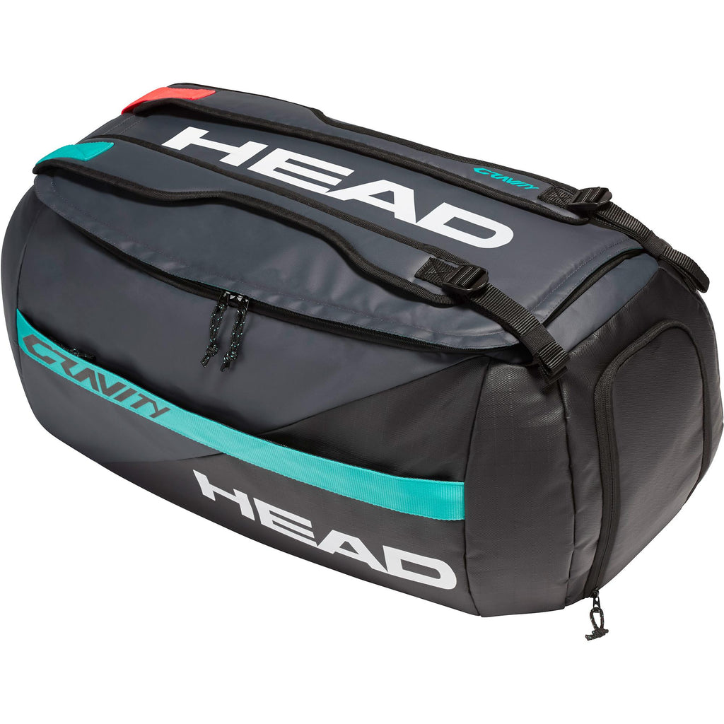Head Gravity 6 Racket Sport Bag - Black/Grey-All Things Tennis-UK tennis shop