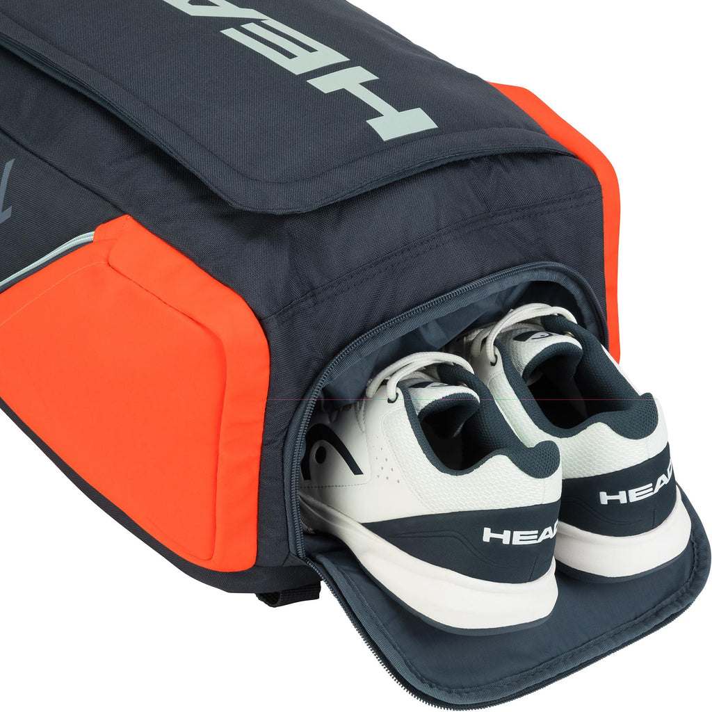 Head Rebel Backpack - Orange/Grey-All Things Tennis-UK tennis shop