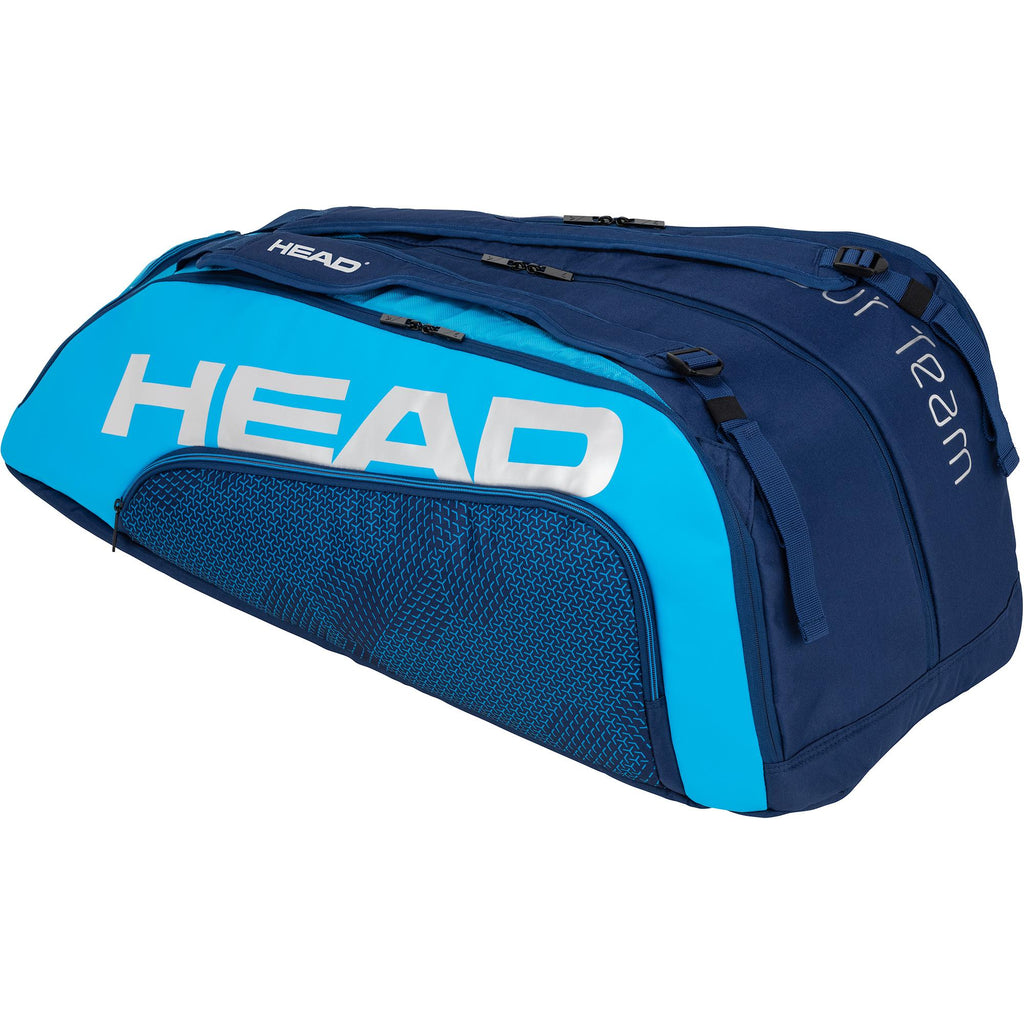 Head Tour Team Monstercombi 12 Racket Bag - Navy Blue-All Things Tennis-UK tennis shop
