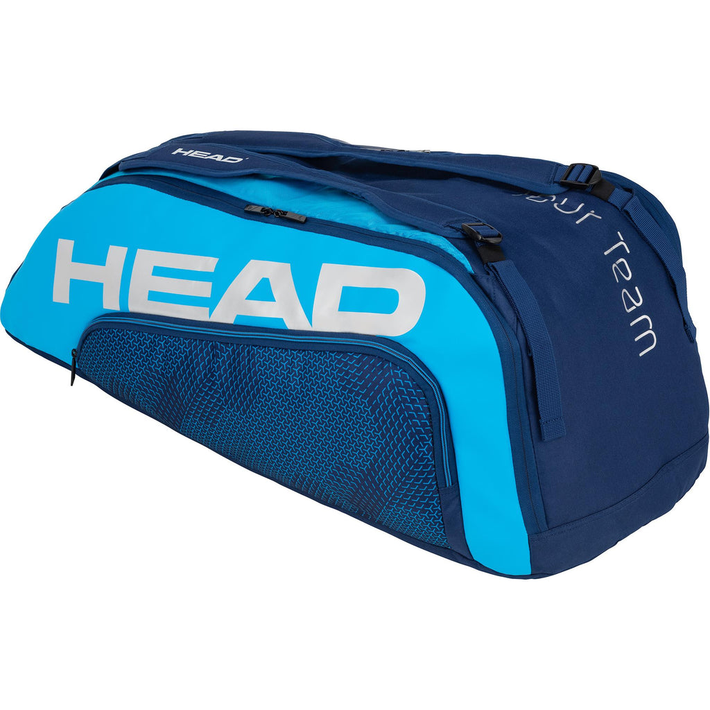 Head Tour Team Supercombi 9 Racket Bag - Navy Blue-All Things Tennis-UK tennis shop