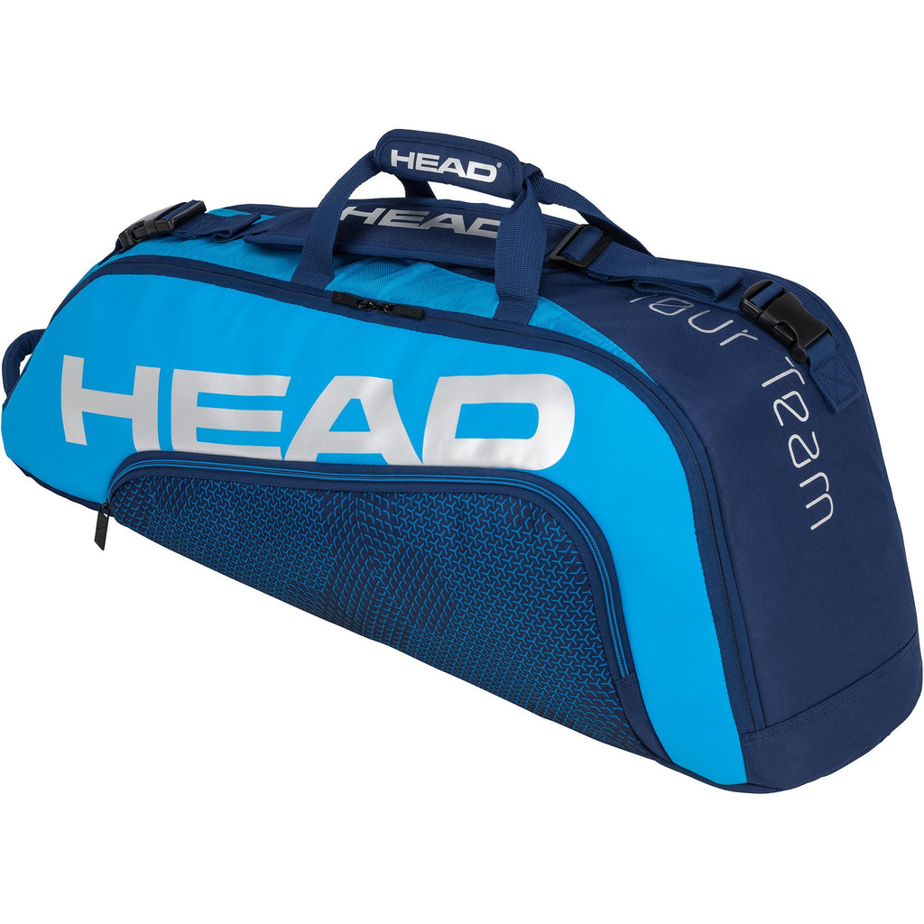 Head Tour Team Combi 6 Racket Bag - Navy Blue-All Things Tennis-UK tennis shop