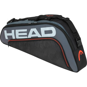 Head Tour Team Pro 3 Racket Bag - Black/Grey-All Things Tennis-UK tennis shop