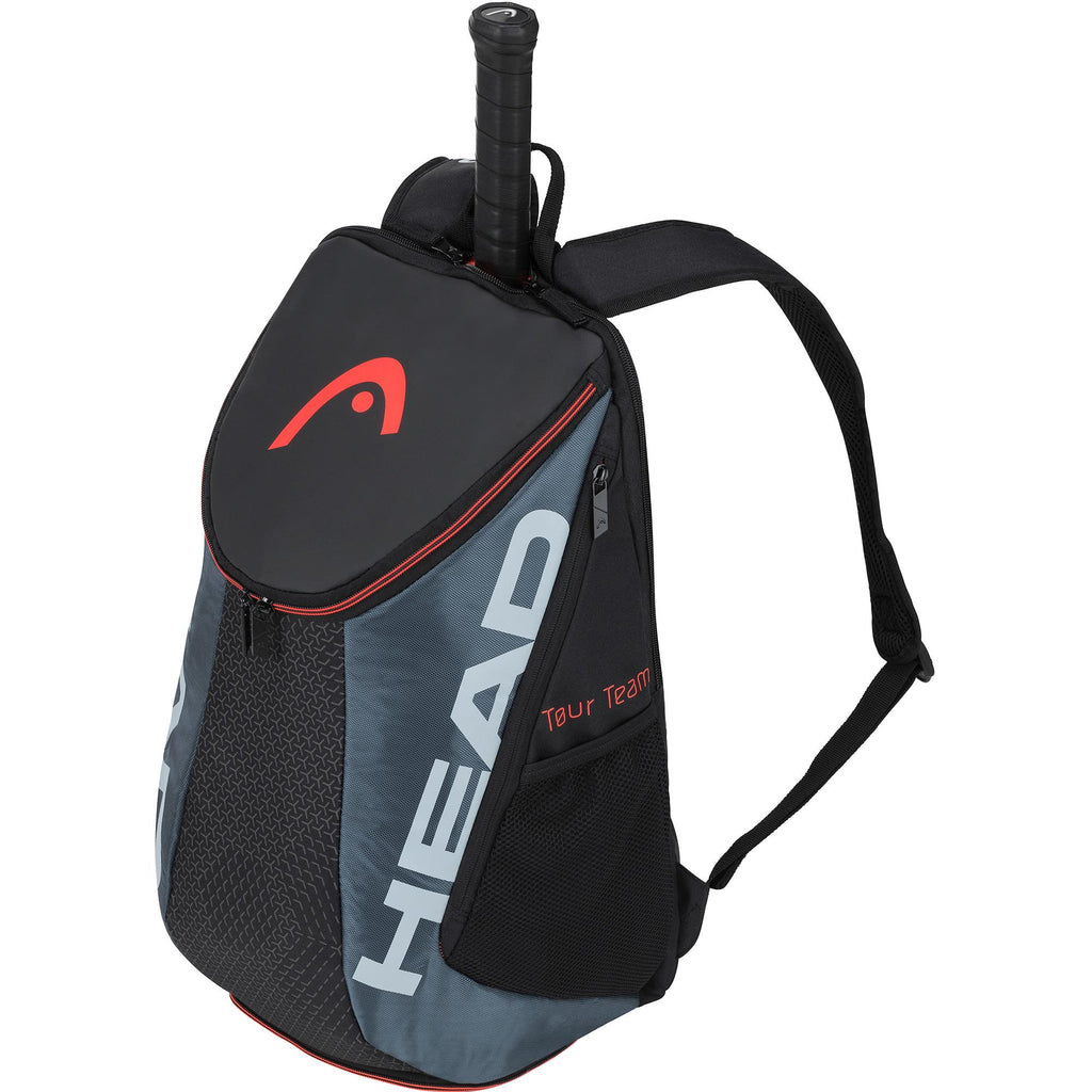 Head Tour Team Backpack - Black/Grey-All Things Tennis-UK tennis shop