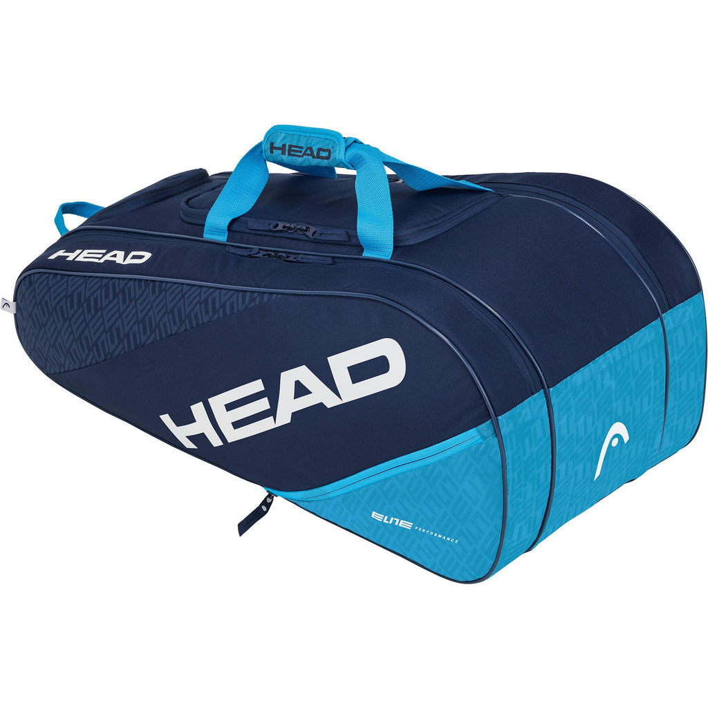 Head Elite All Court Racket Bag - Navy Blue - Independent tennis shop All Tbings Tennis