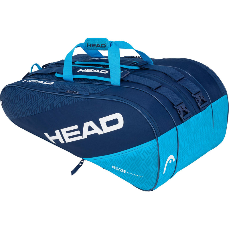 Head Elite Monstercombi 12 Racket Bag - Navy Blue - All Things Tennis