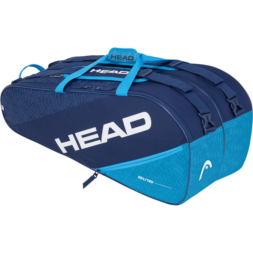 Head Elite Supercombi 9 Racket Bag - Navy Blue-All Things Tennis-UK tennis shop