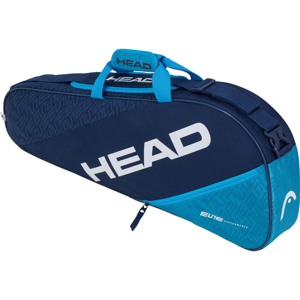 Head Elite Combi Pro 3 Racket Bag - Navy Blue-All Things Tennis-UK tennis shop