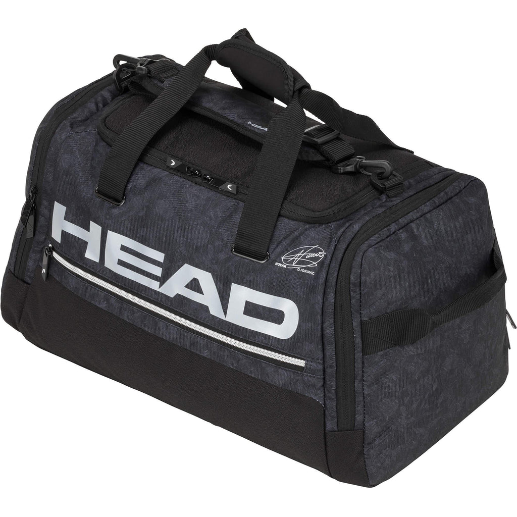 Head Djokovic Duffel Bag - Black-All Things Tennis-UK tennis shop