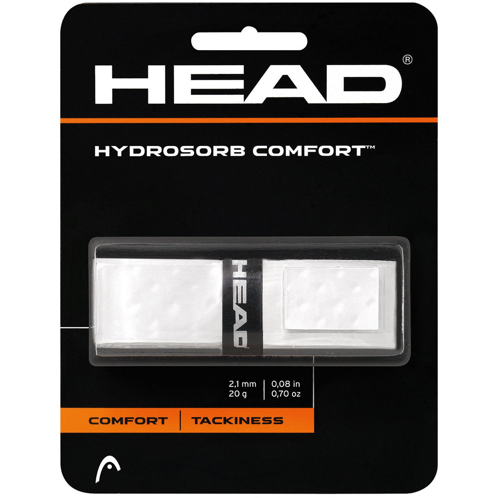 Head Hydrosorb Comfort Replacement Grip-White-All Things Tennis-UK tennis shop