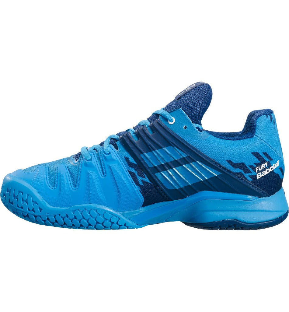 Babolat Propulse Fury Drive blue Men's tennis shoes - All things tennis UK Tennis retailer