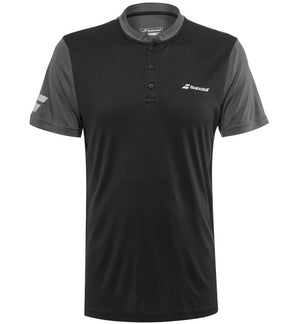 Babolat Mens Play Polo - Black - All Things Tennis