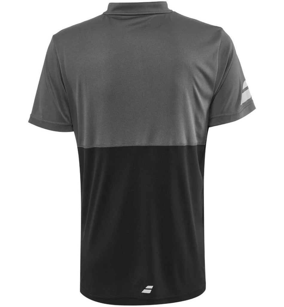 Babolat Mens Play Polo - Black-All Things Tennis-UK tennis shop