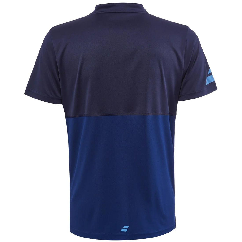 Babolat Mens Play Polo - Estate Blue-All Things Tennis-UK tennis shop