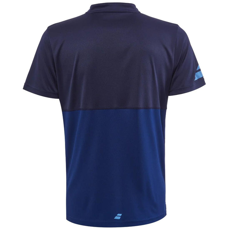 Babolat Mens Play Polo - Estate Blue - All Things Tennis
