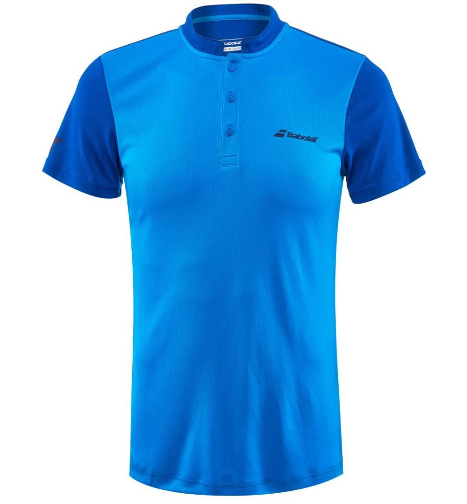 Babolat Mens Play Polo - Aster Blue-All Things Tennis-UK tennis shop