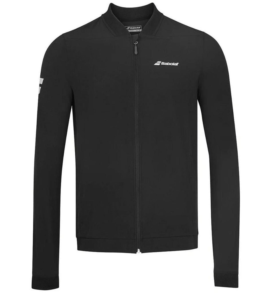 Babolat Mens Play Jacket - Black-All Things Tennis-UK tennis shop