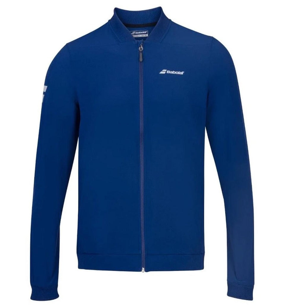 Babolat Mens Play Jacket - Estate Blue - Independent tennis shop All Tbings Tennis