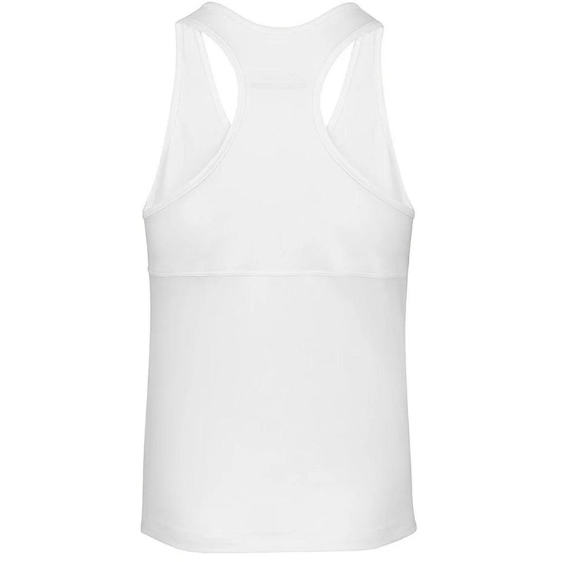 Babolat Womens Play Tank Top - White - All Things Tennis