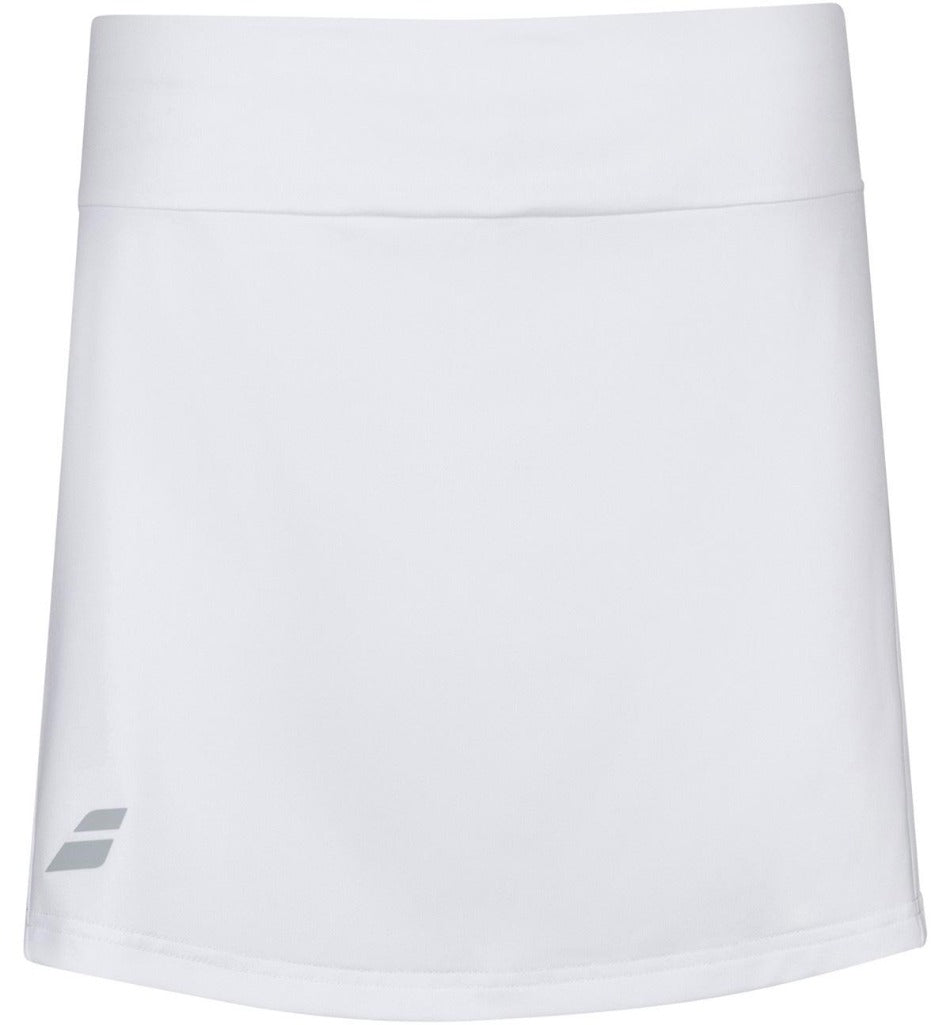 Babolat Womens Play Skirt - White-All Things Tennis-UK tennis shop