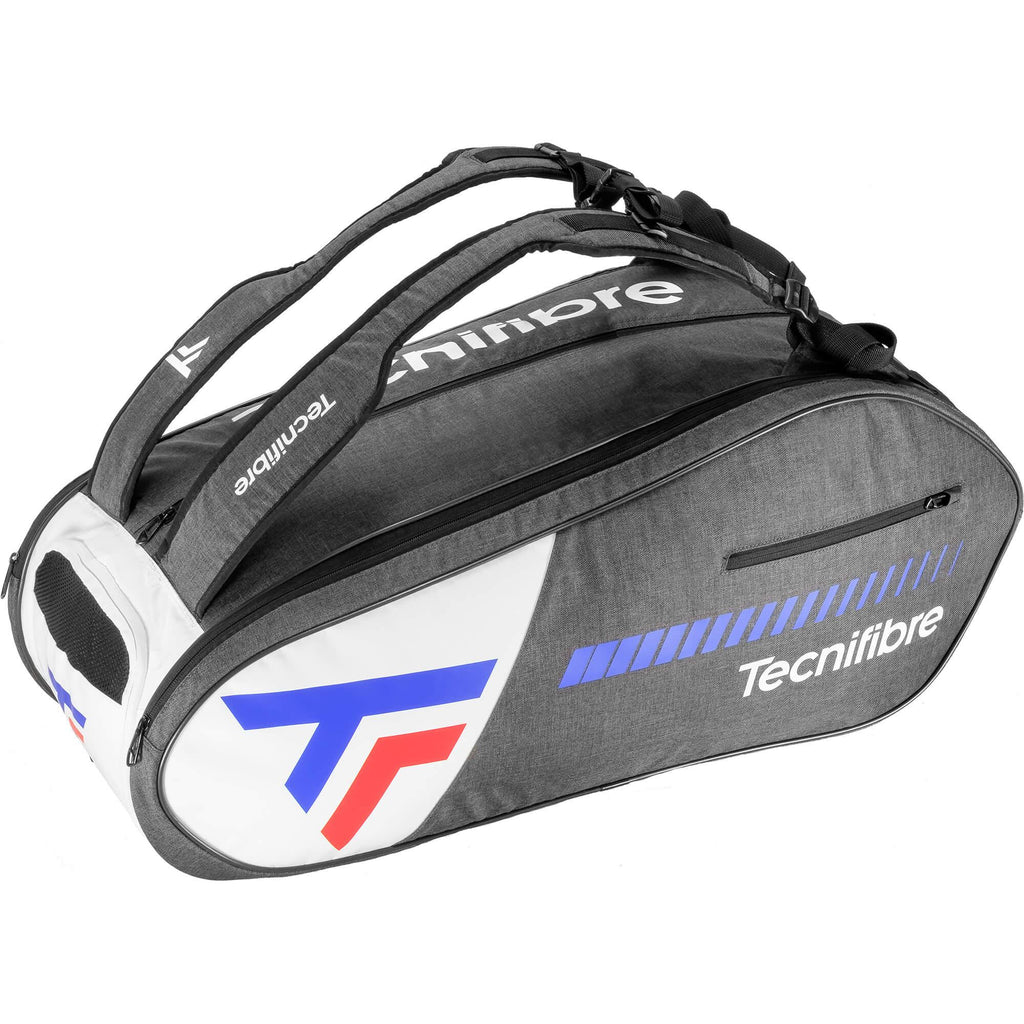 Tecnifibre Team Icon 12 Racket Bag - Black/White-All Things Tennis-UK tennis shop